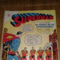 Tebeos: SUPERMAN NOVARO Nº 376 MUY DIFÍCIL. Lote 125219611