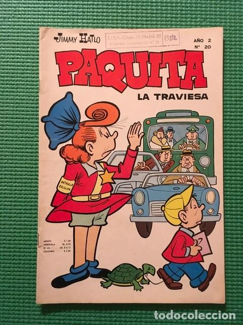PAQUITA LA TRAVIESA AÑO 2 Nº 20 - TIPO NOVARO - (Tebeos y Comics - Novaro - Otros)