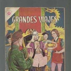 Tebeos: GRANDES VIAJES 4: LAS EMBAJADAS DE MARCO POLO, 1963, NOVARO, BUEN ESTADO. Lote 126088251