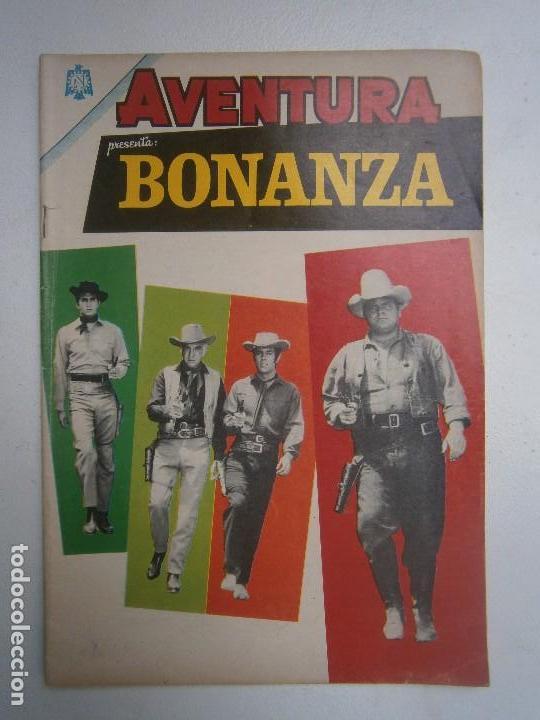 AVENTURA N° 377 - BONANZA! - ORIGINAL EDITORIAL NOVARO (Tebeos y Comics - Novaro - Aventura)
