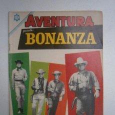 Tebeos: AVENTURA N° 377 - BONANZA! - ORIGINAL EDITORIAL NOVARO. Lote 126089303