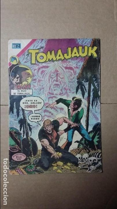 TOMAJAUK N° 211 - ORIGINAL EDITORIAL NOVARO (Tebeos y Comics - Novaro - Otros)