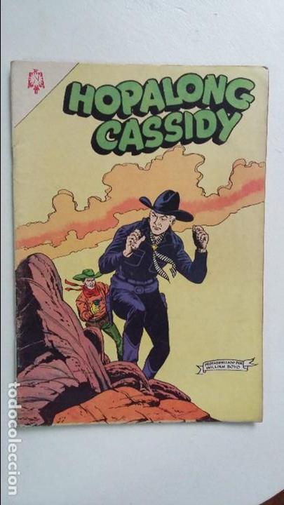 HOPALONG CASSIDY N°120 - ORIGINAL EDITORIAL NOVARO (Tebeos y Comics - Novaro - Hopalong Cassidy)