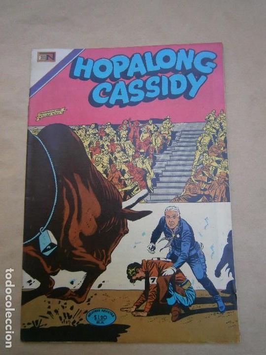 HOPALONG CASSIDY N°194 - ORIGINAL EDITORIAL NOVARO (Tebeos y Comics - Novaro - Hopalong Cassidy)