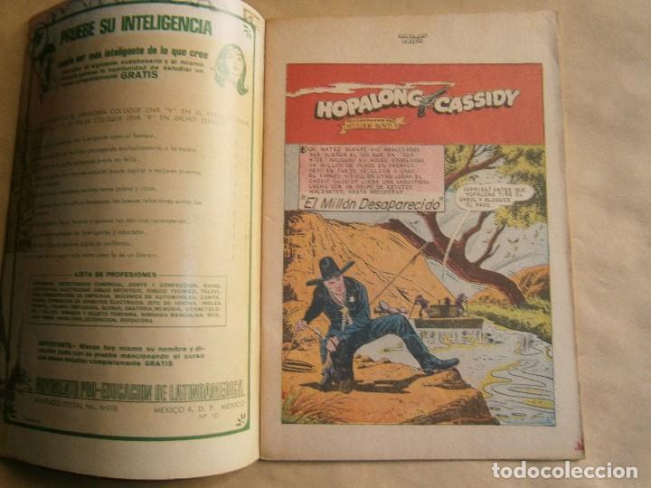 Tebeos: Hopalong Cassidy n°194 - original editorial Novaro - Foto 2 - 126162759
