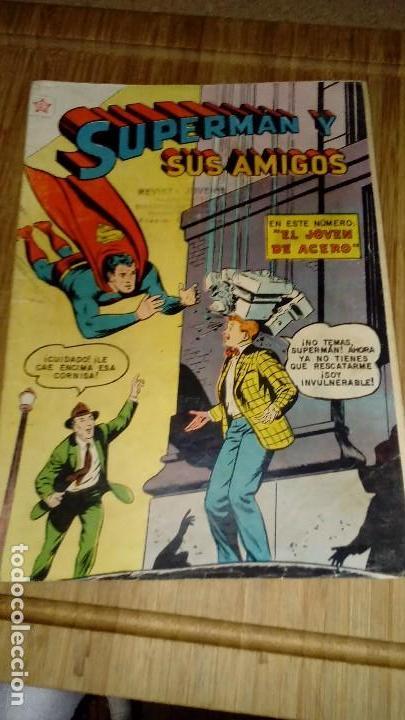 SUPERMAN Y SUS AMIGOS Nº 23 NOVARO (Tebeos y Comics - Novaro - Superman)