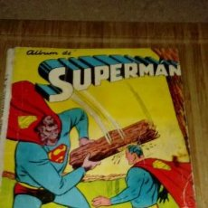 Tebeos: SUPERMAN NOVARO ALBUM CON Nº 199-200-202-203. Lote 126191255