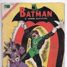 Tebeos: BATMAN # 388 NOVARO 1967 LINTERNA VERDE VS DR. POLARIS BROOME KANE GREENE CON RECORTE EN PAGINA. Lote 126603263