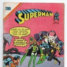 Tebeos: SUPERMAN # 2-1119 NOVARO 1977 LEGION DE SUPER HEROES BRAINIAC 5 VIOLETA RELAMPAGO MON-EL EXCELENTE. Lote 126695391