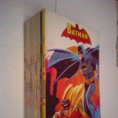 Tebeos: BATMAN - EDITORIAL NOVARO - 12 LIBRO COMICS - COLECCION COMPLETA - MUY BUEN ESTADO - GORBAUD . Lote 126704331