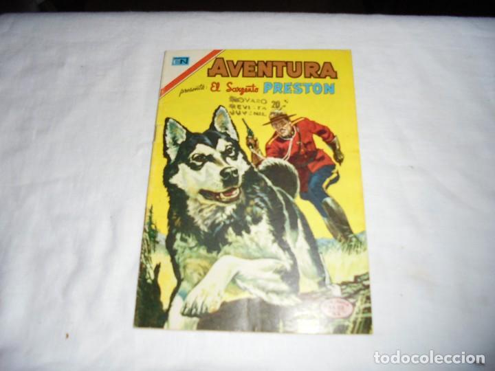 NOVARO AVENTURA SERIE AGUILA EL SARGENTO PRESTON Nº 2-861. (Tebeos y Comics - Novaro - Aventura)