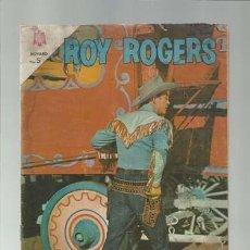 Tebeos: ROY ROGERS 143, 1964, NOVARO, SEÑALES DE USO. Lote 126737835