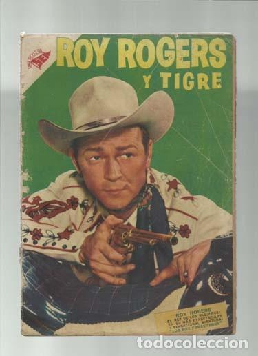 ROY ROGERS 48, 1956, NOVARO, (Tebeos y Comics - Novaro - Roy Roger)
