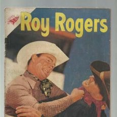 Tebeos: ROY ROGERS 40, 1955, NOVARO. Lote 126741567
