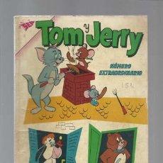 Tebeos: TOM Y JERRY EXTRAORDINARIO 1 ABRIL 1962, NOVARO, BUEN ESTADO. Lote 126752607