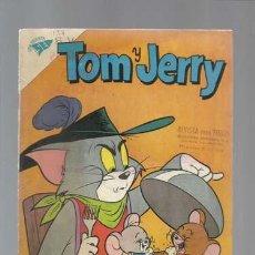Tebeos: TOM Y JERRY 137, 1960, NOVARO, MUY BUEN ESTADO. Lote 126752707