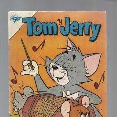 Tebeos: TOM Y JERRY 196, 1963, NOVARO, MUY BUEN ESTADO. Lote 126752807