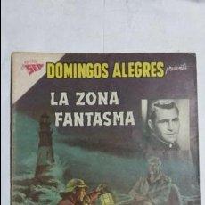 Tebeos: LA ZONA FANTASMA N° 1 - DOMINGOS ALEGRES N° 438 - ORIGINAL EDITORIAL NOVARO. Lote 126756595
