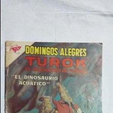 Tebeos: TUROK EL GUERRERO DE PIEDRA - DOMINGOS ALEGRES N° 361 - ORIGINAL EDITORIAL NOVARO. Lote 126776399