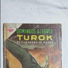 Tebeos: TUROK EL GUERRERO DE PIEDRA - DOMINGOS ALEGRES N° 477 - ORIGINAL EDITORIAL NOVARO. Lote 126776571