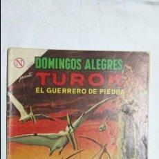 Tebeos: TUROK EL GUERRERO DE PIEDRA - DOMINGOS ALEGRES N° 529 - ORIGINAL EDITORIAL NOVARO. Lote 126776747