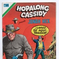Tebeos: HOPALONG CASSIDY # 256 NOVARO AGUILA 1976 WILLIAM BOYD JONAH HEX LA LEYENDA...MULFORD IMPECABLE. Lote 126827839