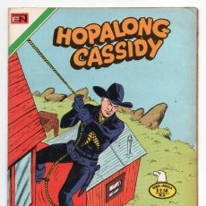 Tebeos: HOPALONG CASSIDY # 257 NOVARO AGUILA 1976 WILLIAM BOYD LA LEYENDA DE DANIEL BOONE MULFORD IMPECABLE. Lote 126828095