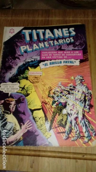 TITANES PLANETARIOS Nº 238 NOVARO (Tebeos y Comics - Novaro - Sci-Fi)