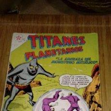 Tebeos: TITANES PLANETARIOS Nº 167 MUY DIFÍCIL.. Lote 126891483
