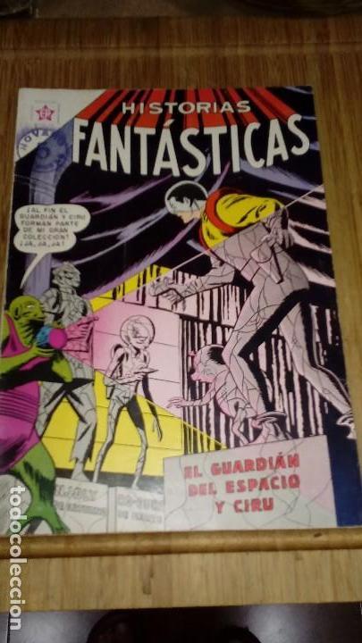 HISTORIAS FANTASTICAS Nº 82 MUY DIFÍCIL. (Tebeos y Comics - Novaro - Sci-Fi)