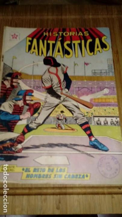 HISTORIAS FANTASTICAS Nº 79 DIFÍCIL. (Tebeos y Comics - Novaro - Sci-Fi)