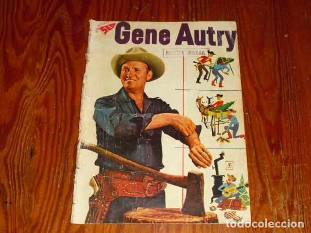 GENE AUTRY - NOVARO Nº 49- 1958 - (Tebeos y Comics - Novaro - Otros)