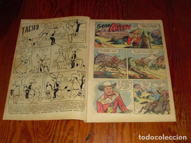 Tebeos: GENE AUTRY - NOVARO Nº 49- 1958 - - Foto 2 - 126895659