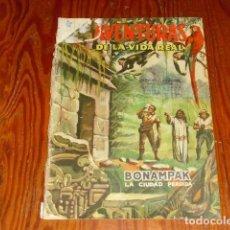 Tebeos: AVENTURAS DE LA VIDA REAL - BONAMPAK LA CIUDAD PERDIDA - Nº 18 - 1957. Lote 126986415