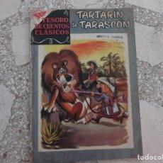 Tebeos: TESOROS DE CUENTOS CLASICOS Nº 10,TARTARIN DE TARASCON-1958,PROCEDENTE DE ENCUADERNACION,VER FOTO. Lote 127190899