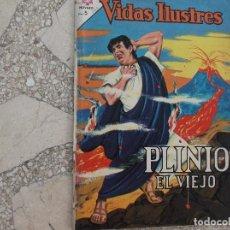 Tebeos: VIDAS ILUSTRES Nº 103,1964, PROCEDENTE DE ENCUADERNACION,VER FOTO,PLINIO EL VIEJO,NOVARO. Lote 127195147