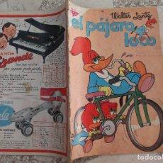 Tebeos: EL PAJARO LOCO,Nº 216,1961, PROCEDENTE DE ENCUADERNACION,VER FOTO,NOVARO,. Lote 127206627