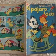 Tebeos: EL PAJARO LOCO,Nº 181,1960, PROCEDENTE DE ENCUADERNACION,VER FOTO,NOVARO,. Lote 127207155