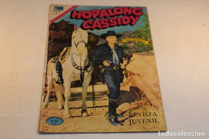 Tebeos: Hopalong Cassidy nº184 , protagonizada por William Boyd / Novaro, 1970 / buen estado. - Foto 2 - 127247315