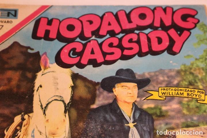 Tebeos: Hopalong Cassidy nº184 , protagonizada por William Boyd / Novaro, 1970 / buen estado. - Foto 3 - 127247315