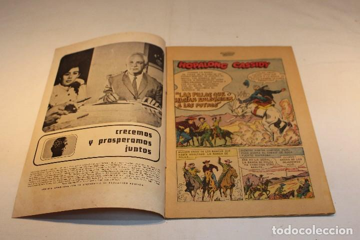 Tebeos: Hopalong Cassidy nº184 , protagonizada por William Boyd / Novaro, 1970 / buen estado. - Foto 6 - 127247315