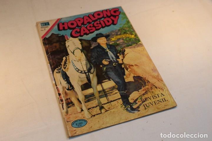 HOPALONG CASSIDY Nº184 , PROTAGONIZADA POR WILLIAM BOYD / NOVARO, 1970 / BUEN ESTADO. (Tebeos y Comics - Novaro - Hopalong Cassidy)