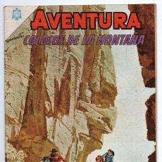Tebeos: AVENTURA # 408 NOVARO 1965 COLOSOS DE LA MONTAÑA DANIEL BOONE ORO SANGRIENTO EXCELENTE ESTADO. Lote 127264231