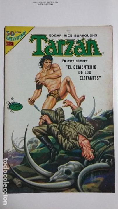 TARZÁN N° 3-118 SERIE AVESTRUZ - ORIGINAL EDITORIAL NOVARO (Tebeos y Comics - Novaro - Tarzán)
