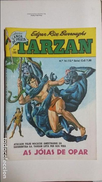 TARZÁN N° 16 - HERMOSO EJEMPLAR EDITORIAL EBAL EN PORTUGUÉS (Tebeos y Comics - Novaro - Tarzán)