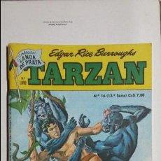 Tebeos: TARZÁN N° 16 - HERMOSO EJEMPLAR EDITORIAL EBAL EN PORTUGUÉS. Lote 127292847
