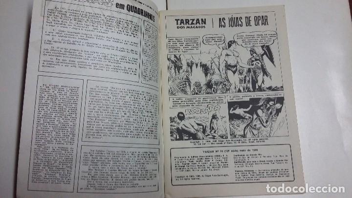 Tebeos: Tarzán n° 16 - hermoso ejemplar editorial Ebal en portugués - Foto 2 - 127292847