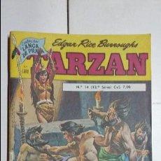 Tebeos: TARZÁN N° 14 - HERMOSO EJEMPLAR EDITORIAL EBAL (EN PORTUGUÉS). Lote 127295319