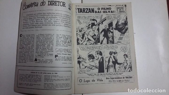Tebeos: Tarzán n° 14 - Hermoso ejemplar editorial Ebal (en portugués) - Foto 2 - 127295319