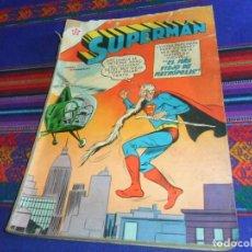 Tebeos: SUPERMAN EXTRAORDINARIO 11 DE MAYO DE 1960. EL MÁS VIEJO DE METRÓPOLIS. NOVARO. RARO.. Lote 127347763